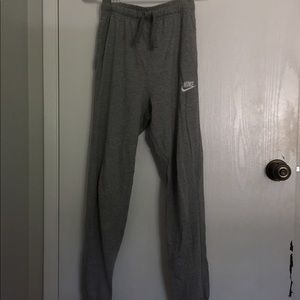 Grey Nike Light Sweatpants